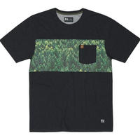 HIPPY TREE SPRUCE TEE Heather Black