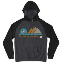 HIPPY TREE APERTURE HOODY Black