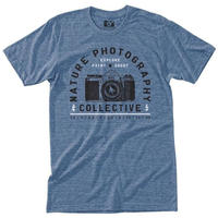 HIPPY TREE F-STOP TEE Heather Light Blue