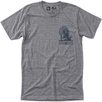 HIPPY TREE CHIEF TEE Heather Grey