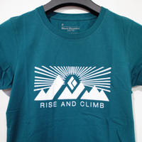 BLACK DIAMOND RISE AND CLIMB TEE  WOMEN'S