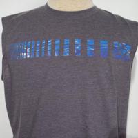PRANA Aquarius  Sleeve Less T-Shirt Chacoal