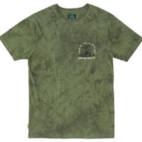 HIPPY TREE PERCEPTION CLOUD WASH TEE Army