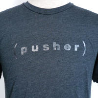 Pusher Logo Tee Black Heather