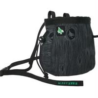HIPPY TREE WALNUT CHALK BAG BLACK