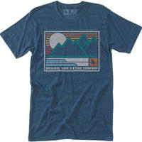 HIPPY TREE FRAMEWORK TEE Heather Navy