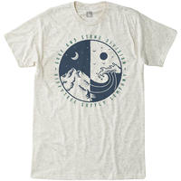HIPPY TREE BALANCE TEE Heather Natural