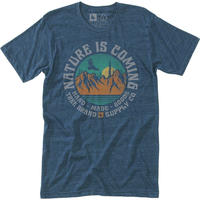 HIPPY TREE OLYMPIA TEE Heather Navy