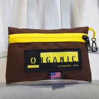 ORGANIC CLIMBING Diffy Bag Brown x Yellow