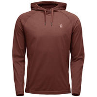 BLACK DIAMOND CRAG HOODY - MEN'S Red Oxide