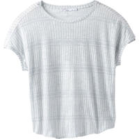 PRANA Womens Epley Top White Nami