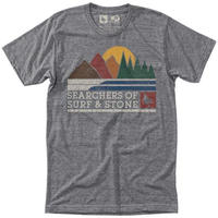 HIPPY TREE EXPEDITION TEE Heather Grey