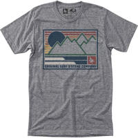 HIPPY TREE FRAMEWORK TEE Heather Grey