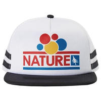 HIPPY TREE NATURE HAT WHITE