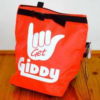 GIDDY & ORGANIC  Collaboration Chark Bucket Neon Orange