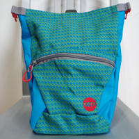MOON BOULDERING CHALK BAG  BLUE  JEWEL X GREEN