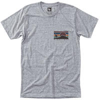 HIPPY TREE SUNRISE TEE Heather Grey