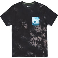 HIPPY TREE SUBMERGE TEE Heather Black
