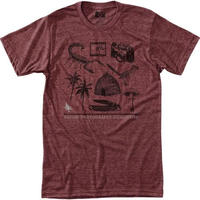 HPPY TREE SPECIMEN TEE Heather Rust