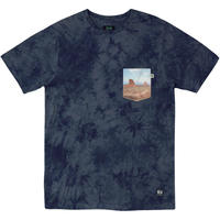 HIPPY TREE BUTTE CLOUD WASH TEE Navy