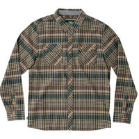 HIPPY TREE MORRO FLANNEL SHIRT  Tan