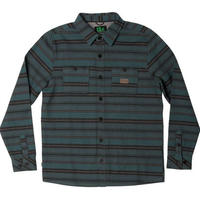 HIPPY TREE EASTON FLANNEL Teal