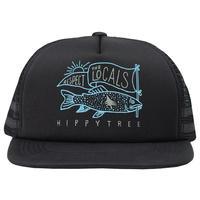 HIPPY TREE LOCALS HAT Black
