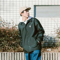 SANTOWN Hard Work Coach Jacket - Black