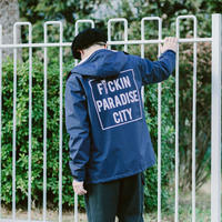 "SANTOWN  ""ODYSEEY"" Coach Jacket PARADISE CITY version - Navy -"