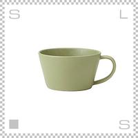 SAKUZAN サクザン SARA サラ スープカップ モスグリーン 260cc パステルカラー 日本製