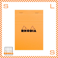 ROHDIA ロディア ブロックメモ No.13 方眼 イエロー 10冊セット 10.5×14.8cm 80P フランス製