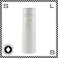 dottir ドティエ pipanella ピパネラ フラワーベース ドット Mサイズ グリーン W5.5/H17.5cm 花瓶 陶器製 デンマーク製