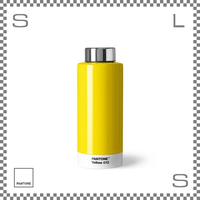 PANTONE パントン ドリンクボトル スチール イエロー 630ml Φ74/H190mm ステンレスボトル 魔法瓶