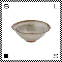笠間焼 鈴木まるみ 楕円鉢 Lサイズ 黒糠 Φ15.5~16.3/H6.8cm(高台径:4.6cm) ハンドメイド オーバルボウル 日本製