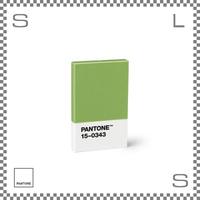PANTONE パントン カードホルダー グリーン 95×60×11mm 名刺入れ カードケース