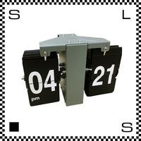 SLOWER スロワー LUFT ルフト オリーブ W205/D85/H137mm フリップクロック ウォールクロック パタパタ時計