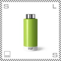 PANTONE パントン ドリンクボトル スチール グリーン 630ml Φ74/H190mm ステンレスボトル 魔法瓶