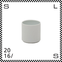 2016/ Tomas Alonso トマス アロンソ カップ Sサイズ ホワイト 100ml Φ53/H53mm フリーカップ 湯呑み 有田焼 日本製 ta-001