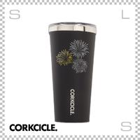 CORKCICLE コークシクル ハナビ タンブラー ブラック 16oz 2116MB-HANABI ステンレス製 マグボトル 携帯ボトル