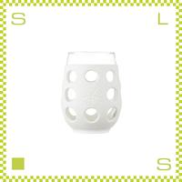 LIFEFACTORY ライフファクトリー ワイングラス 500ml オプティックホワイト シリコンカバー付グラス
