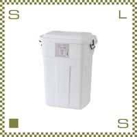 トラッシュカン 30L ホワイト W39/D27/H48.6cm ペール ごみ箱 ゴミ箱 azu-lfs934wh