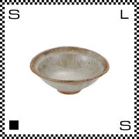 笠間焼 鈴木まるみ 楕円鉢 Sサイズ 黒糠 Φ12.5/H4.8cm(高台径:3.5cm) ハンドメイド オーバルボウル 日本製