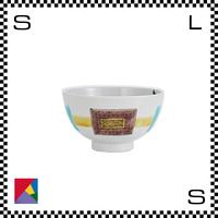 九谷焼 道場八重 茶碗 四角型文様 イエロー Φ11/H5.5cm ライスボウル ハンドメイド 日本製