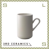 3RD CERAMICS サードセラミクス トールマグ グレー 250cc Φ65/W95/H100mm コーヒーマグ 日本製