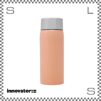 Innovator イノベーター ステンレスボトル 370ml レッド Φ63/H173mm 携帯ボトル 魔法瓶 水筒