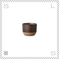 KINTO キントー CLK-151 カップ ブラウン 180ml Φ75/H60mm 湯呑み フリーカップ 磁器 日本製
