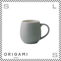 ORIGAMI オリガミ バレルアロマカップ マットグレー Φ76/W105/H78mm 210cc コーヒーマグ マグカップ アロマが愉しめる 日本製