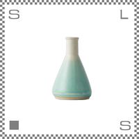 aiyu アイユー BIKASUCO ビカスコ Mサイズ ブルー W6/D6/H9cm 100cc フラワーベース 花瓶 波佐見焼 日本製