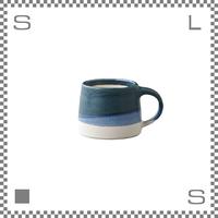 キントー SCS-S03 スローコーヒースタイル マグ 110ml ネイビー ホワイト マグカップ ハンドペイント風