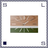 HERMOSA ハモサ LABREA CLOCK ラブレアクロック オリーブ 壁掛け時計 置き時計 ビーチテイスト beach